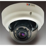 5MP Indoor Zoom Dome Camera with D/N, Adaptive IR, Basic WDR, 2.4x Zoom Lens, 9-22mm/F1.6-2.3, DC iris, H.264, 1080p/30fps, 2D+3D DNR, Audio, MicroSDHC, PoE/DC12V, IK09, DI/DO