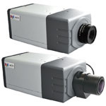 5MP Box Camera with Fixed Lens, D/N, Basic WDR, f2.93mm/F2.0, H.264, 1080p/30fps, DNR, Audio, MicroSDHC/MicroSDXC, PoE, DI/DO