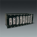 4U Rackmount Kit for Wall-mount type devices, for all video servers and decoders except SED-2100R, w/ 8 front bezel