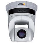 AXIS 214 PTZ Pan/Tilt/Zoom (18x) Network Camera. Auto-iris, automatic Day/Night, and auto-focus zoom lens. Up to 4CIF resolution at 30 fps. Simultaneous  MPEG-4 and Motion JPEG. Includes ceiling mount kit and power supply