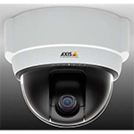 AXIS 215 PTZ Pan/Tilt/Zoom (12x) Compact Network Camera. Auto-iris, automatic Day/Night, and auto-focus zoom lens. Up to 4CIF resolution at 25/30 fps. Simultaneous MPEG-4 and Motion JPEG. Includes power supply, mounting kit and transparent cover