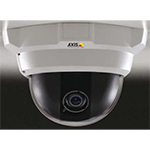 "AXIS 216MFD Fixed Dome Network Camera. 1.3 Megapixel 1/3"" progressive scan CMOS sensor. Varifocal DC-iris lens. Simultaneous Motion JPEG and MPEG-4 in full megapixel 1280x1024 resolution. PoE. Includes power supply"