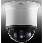 AXIS 233D PTZ 35x optical zoom Dome Network Camera with WDR and area zoom. Auto Day/Night. Continuous 360 deg. rotation, 180 deg. tilt w/E-flip. 4CIF resolution at 30/25fps in MPEG-4 or Motion JPEG. Includes ceiling mount kit, covers and power supply