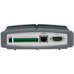 AXIS 240Q Video Server, 4-channel NTSC/PAL Video Encoder. Motion JPEG. Up to 24/20 total fps. I/O for alarm/event handling. RS-232/RS-485 for data and PTZ control