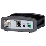 AXIS 247S 1 channel high quality video up to 30/25fps in all resolutions Video Encoder. Simultaneous Motion JPEG and MPEG-4. Powered over Ethernet (IEEE 802.3af) with power out for the analog camera. No power supply included