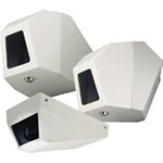 AXIS Indoor Fixed Vandal-resistant Corner Mount Housing for AXIS 210, AXIS 211, AXIS 221 and AXIS 223M Network Cameras