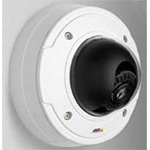 AXIS P3343 12mm SVGA, Day/Night Fixed Dome Network Camera with discreet, tamper-resistant indoor casing. Varifocal 3.3-12 mm DC-iris lens, remote focus and zoom. Configurable H.264 and Motion JPEG streams. WDR. PoE. Midspan not included