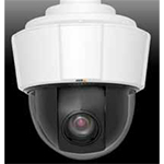 AXIS P5522-E Outdoor PTZ Dome Network Camera with 18x zoom, D1 resolution (720x480) and IP66 classification in H.264 and Motion JPEG, Day & Night. Includes High PoE midspan, smoked and clear dome covers. Brackets are sold separately