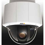 AXIS Q6034 HDTV high speed PTZ Dome Network camera with 18x optical zoom for indoor use. HDTV 720p at 30fps (1280x720) in H.264 and Motion JPEG, Day & Night, IP52. Includes High PoE midspan, dome covers and ceiling mount kit