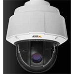 AXIS Q6034-E 60Hz HDTV Outdoor-ready high speed PTZ Dome Network Camera with 18x optical zoom. HDTV 720p at 30fps (1280x720) in H.264 and MJPEG, D&N, IP66. Includes High PoE midspan, smoked and clear dome. Mounting not included