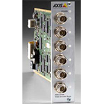 AXIS Q7406 6 channel Blade Video Encoder. Multiple, individually configurable H.264 and Motion JPEG streams, max. D1 resolution at 30/25fps per channel. Video motion detection. Active tampering alarm