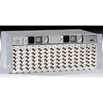 "AXIS Q7900 4U Video Server 19"" Rack with 14 slots for Axis video encoder blades. Supports up to 84 analog channels. Multiple video streams per channel through 4 Gigabit Ethernet ports. Two redundant power supply units"