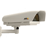AXIS T92A20 Outdoor High PoE powered IP66 rated Housing for AXIS 210/210A, 211/211A/211M/211W, 221, 223M. Made of die-cast aluminum, sunshield of ABS material. Includes heater, wall bracket, AXIS T8121 single port High PoE midspan
