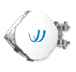 "100Mbps, Full-Duplex, med-range link, 80GHz U.S. licensed, 12"" external antennas, 1000Base-SX (LC), 10/100 Add Drop Port, 1 year warranty; upgradeable to AR80 with FE80U-AR80-UPG software key"