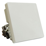 Gemtek WIXS-167 Outdoor WiMAX CPE with 1 data port and 14dBi integrated antenna, 2.5GHz. Includes mounting hardware. Quantity Discounts Available