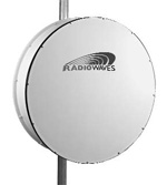 6' (1.8m) High Performance Dish Antenna, 14.25-15.35GHz, Rectangular WR62 Flange