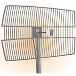 "26 dBi 3.5GHz Die Cast Grid Antenna (30"" LMR(R)240 pigtail with N-Male connector)"