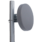 "17dBi Echo Series 5.8GHz Backfire Antenna (N-Female Integrated Connector), Dimensions: 10""x2.5"""