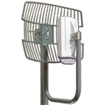 "14dBi/2.4GHz, 19dBi/5GHz Wire Grid Antenna for Trango. 16"" Grid Antenna, galvanized steel"
