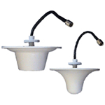 "2400-2485MHz 3 dBi Inwave Series Ceiling Mount Indoor Omnidirectional (Flat) Antenna (9"" LMR(R)300 Pigtail with N-Female Connector)"