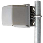 12 dBi 2.4GHz Mini Directional Antenna, N-Female Integrated Connector, 4""