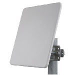 MARS 19dBi Triple Polarization MIMO Subscriber Panel Antenna, 5.125-6.1GHz, MNT-22 Mounting Kit Included