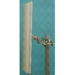 MARS 17dBi Horizontal Polarization Base Station Sector Antenna, 90 degrees, 4.9-6.1GHz, MNT-22 Mounting Kit Included