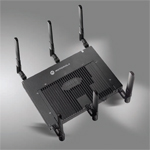 AP-7131 Dual Radio 802.11n Adaptive Services Access Point with integrated ExpressCard Slot, with QIG for outdoor deployment w/3rd party enclosures in the US with less channels exposed in 5GHz band. Antennas are sold separately