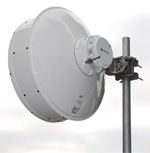 2' HP PTP800 Antenna, 21.20-23.60GHz, Single Polarization, Cambium Interface