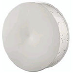 2.6' HP PTP800 Antenna, 10.70-11.70GHz, Single Polarization, Cambium Interface