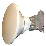 2' HP PTP800 Antenna, 10.70-11.70GHz, Single Polarization, Cambium Interface. Sale price while supplies last