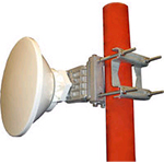 1' HP PTP800 Antenna, 21.20-23.60GHz, Dual Polarization, PBR220. Sale price while supplies last
