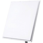 PA5-0530-DP, 4.9-6.1GHz Dual Polarity, Vertical and Horizontal, 30 dBi Panel Antenna