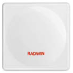 RADWIN 5000 HPMP HSU 550 Series Subscriber Unit Radio with high gain 23 dBi integrated antenna, supporting multi frequency bands at 5.89-5.85GHz, factory default 5.4GHz Universal