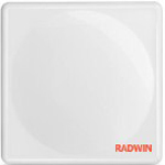 RADWIN 2000 C-Series ODU with 22 dBi integrated antenna, supporting 2.5GHz FCC BRS band up to 100Mbps net aggregate throughput