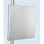 Flat Panel Antenna, 1.2ft, dual polarization, gain 21dBi, 3.3-3.8GHz bands