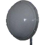Dish Antenna, 3ft, Dual Polarization, Gain 32dBi, 4.9-5.875GHz bands