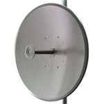 RDL-2000/3000 4.9-5.8GHz Parabolic Dual-polarization Antenna, 2 foot, 29 dBi, 6 degree