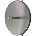 RDL-3000 4.9-5.8GHz Parabolic Dish Dual-polarization Antenna with Mount, 3 ft, 32 dBi, 4 degree, 2x N(f), Radome not included