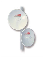 8' (2.4m) SP Dish Antenna, 7.125-8.5GHz, Dual Polarized, CPR112G Flange