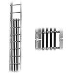 WAVEGUIDE LADDER 20' 8 LINE - 3' RUNG SPACING