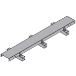 "ROOF BRIDGE KIT (8' LONG) FOUR COAX LINES 1/2"" - 1-5/8"". Details: Cover 11 1/2"", Sleeper 22"""