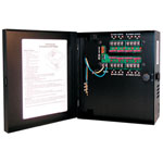 Indoor Power Supply, 24VAC, 4 Output, 4 Amps, Small Enclosure, UL Listed