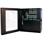 Indoor Power Supply, 24VAC, 8 Output, 4 Amps, Small Enclosure, UL Listed