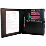 Indoor Power Supply, 24VAC, 8 Output, 7.25 Amps, Small Enclosure
