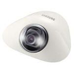 "Analog Flat Dome Camera, 1/3"" Super HAD CCD, 600 TV Lines, Electronic Day Night, 3mm Fixed Lens, Surface Mount, 12VDC"