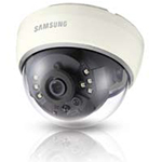 "Analog IR Dome Camera, 1/3"" Super HAD CCD, 600 TV Lines, Built-in IR LEDs, 3.6mm Lens, 12VDC"