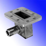 Waveguide CPR137G to N/Female Coax Adapter, SOI