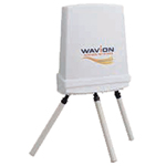 Wi-Fi 802.11n Dual Band Base Station, 17420602, spatially adaptive Beamforming and 3x3:3 MIMO operating at 2.4 and 5GHz bands concurrently, 3 element Sector antenna at 2.4GHz, 3 Omni-directional tilted antennas at 5GHz, PoE NOT included, ETSI/CE