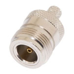 "N-Female connector for 240 type 1/4"" coaxial cable, SOI"
